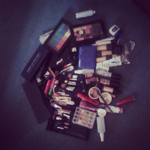 that time of the year (stock up time) #makeup