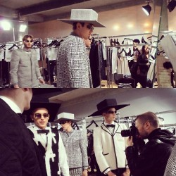 #thombrowne #backstage #pfw #paris #fashionweek #fashion #mens #model #menswear #ibracisse #photography