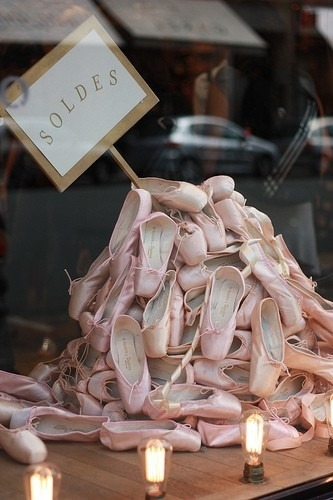 balletballetballet:  Repetto Paris ♡