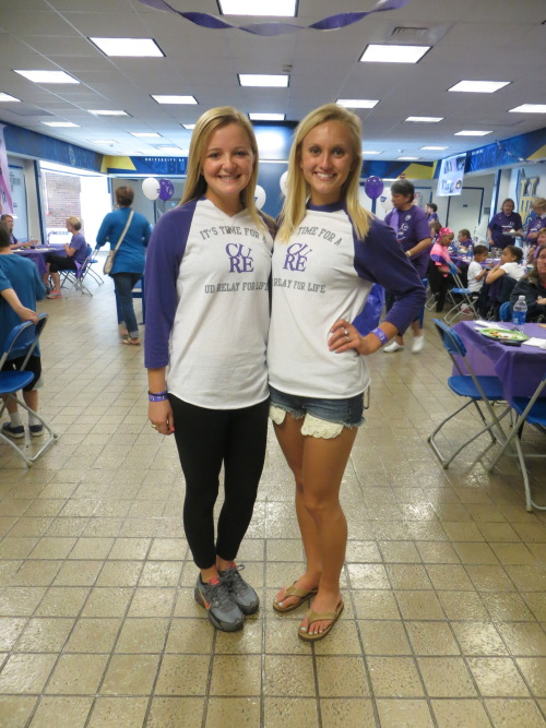 Last weekend, UD students organized a Relay for Life on our campus to raise money for cancer research. The event included a survivors walk, luminaria ceremony, and many other fun ways to stay active. The students brought their sleeping bags and stayed in the field house until 6:00 am the next morning. University of Delaware students raised $99,293.45 for the cause! Keep up the good work Blue Hens!