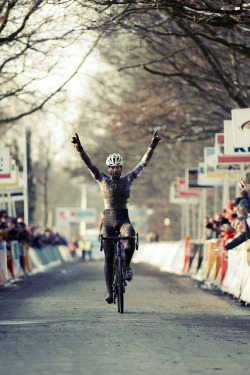 fabbricadellabici:  World champion Sven Nys wins Superprestige Hoogstraten 2013 untitled by brampaulussen on Flickr.