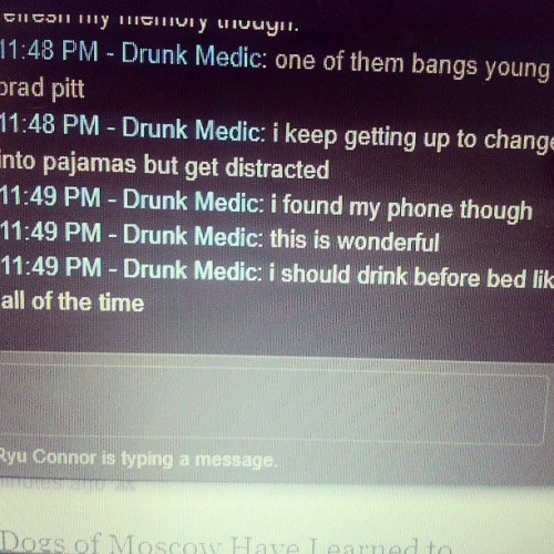 Typical Tuesday. #drunk #steam #chatlog #tfln