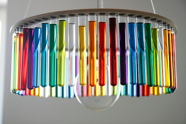 fer1972:  Test Tube Chandelier by Pani Jurek  for me and Katerine