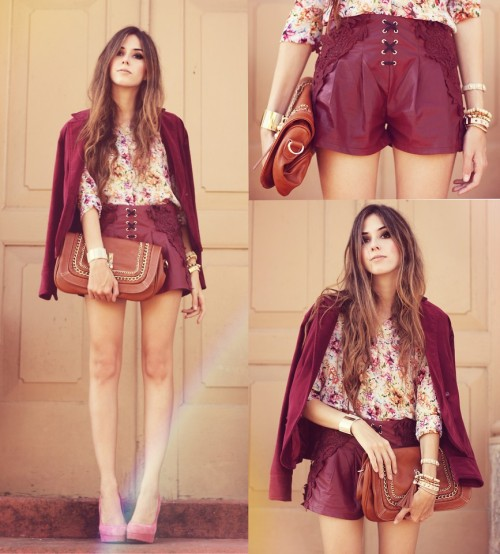 #kingandfox #thingswelove shorts suits, floral, laces, gold accents… we're dying.