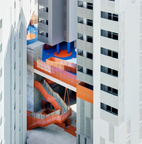 "theoutsidders:  ""Amann Cánovas Maruri- 118 low cost housing units,Coslada 2012.Via, photos (C)David Frutos."" LINK Subtilitas"