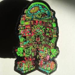 "((((FOR SALE))))) my new ************* SUNBEAM ON THE ASTRONAUT hardenamel PINS….$20.(includes shippin in U.S ).. .2 ¼"" x 1 3/8"". …..etched edition of 150….with BLACK LIGHT SENSITIVE GREEN..( MESSAGE ME ). ………………………#pin #enamelpin #instapin #astronaut #enamel #space #sunbeamontheastronaut #spacerock #space #pincollector#stevencerio #cerio #theresidents #festivalart #sci-fi #scifi #affordable #pinsforsale #pinforsale #hairpin #hippy #psychedelic #psychedelicartist #psychedelicart #trips #tripstagram #art #instartist #famousartist #hatpin #pingame #hatpin"