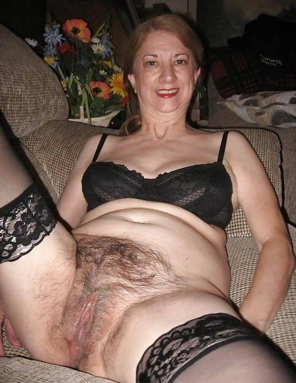Mature hairy pussy grannies