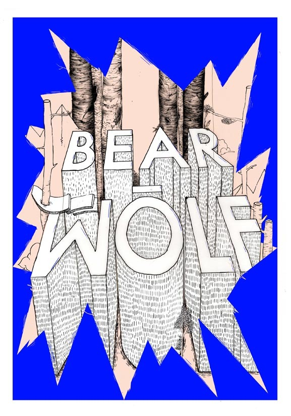 a poster that  made under bearwolf project