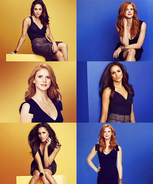 Suits: Donna and Rachel.