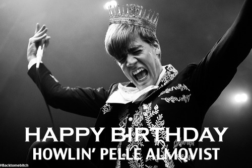 It's a special day today because it's Pelle's birthday so I made this for him <3