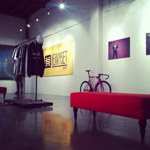 Last night of the Heavyset Pop-Up shop. We'll be here till midnight. We're gonna watch Eyes Wide Shut on the projector if anyone wants to join! (at Stay Gallery)