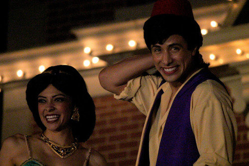 Aladdin and Jasmine on Flickr.