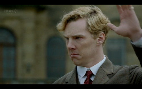 benedictfrowning:  The inaugural post of Benedict Frowning. Benedict approves sort of.  Everyone come check out this blog my friend and I made :]