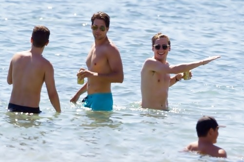 BTR + swimsuits