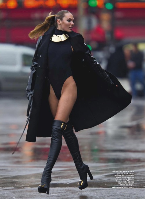 suicideblonde:  Candice Swanepoel photographed by Hans Feurer for Vogue Australia, June 2013