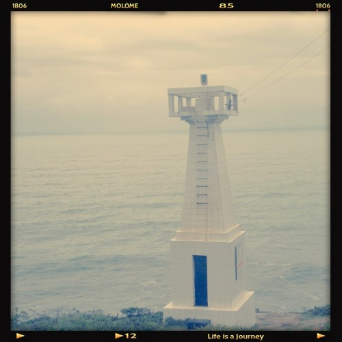 yesyouandmetogether:  Farol! #beach #sea #enjoy (Photo taken and uploaded via MOLOME )