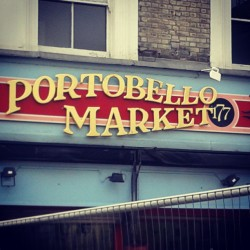 at Portobello Road Market