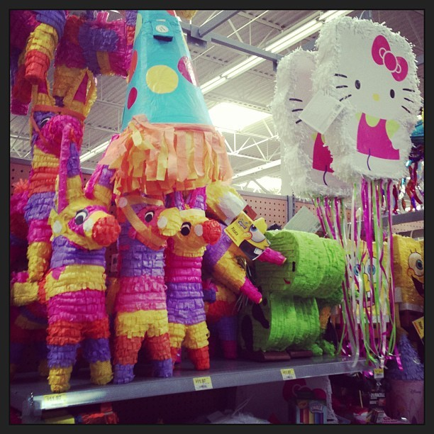 Right now in Austin… Piñatas make me happy. #tradition