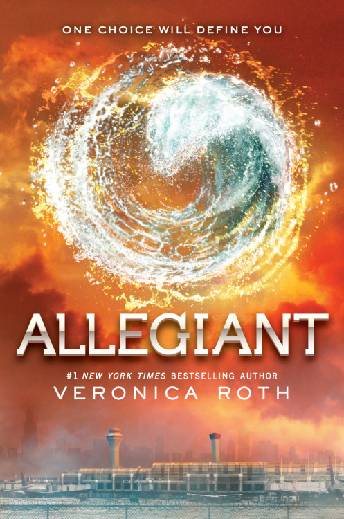 theartofnotwriting:  divergentofficial:  JUST REVEALED - the official ALLEGIANT cover!  Only 165 more days until ALLEGIANT hits stores! http://bit.ly/18w60ov  LOOK at it. Isn't it gorgeous? Joel Tippie at HarperCollins is the creative force behind this cover, and he is so talented and always works so hard to get everything just right. (Also a shout out to Amy Ryan and Barb Fitzsimmons, also at Harper— you guys are awesome!) I have been so fortunate to get three covers that I love. I couldn't be happier with this one and I can't wait to see all three books lined up on my shelf! A short note about that symbol: no, it is not a faction symbol. It is, however, a symbol that appears in the book. I can't really share more than that— you'll have to read it for yourself! (I can't wait for that either!) (Also, yes, that is O'Hare at the bottom. Can't say more about that either! AHH!) If you missed my Today show interview with Ryan Seacrest in which we reveal the cover for the first time, you can watch it here: http://www.today.com/video/today/51828575