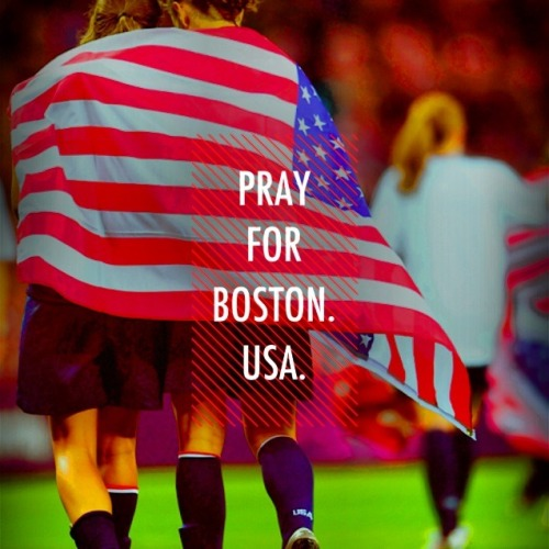 World needs jesus. Thoughts and prayers with Boston and those also effected by it. ❤