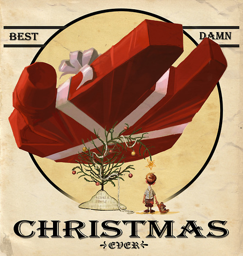 Best Damn Christmas Ever // by Kevin R Adams