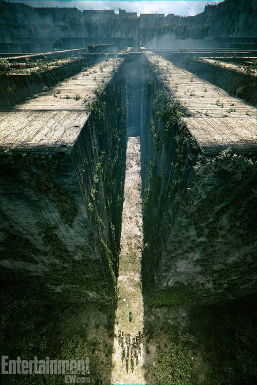 "thedylan411:  Stunning Concept Art For 'The Maze Runner' ""Thomas might be more important than he could ever guess. If only he could unlock the dark secrets buried within his mind."""
