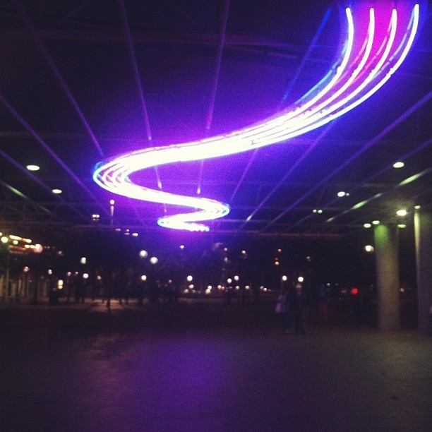 #sydney  #light #darlingharbour #lightstrip (at Sydney Entertainment Centre)