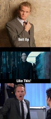 rajalghul:  Voldemort taking Barney's advice :)