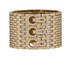 The Panther maillon cuff by Cartier