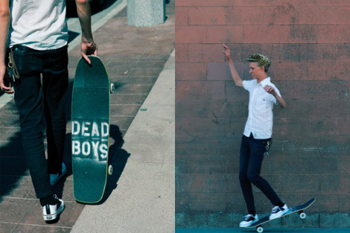 Vans Vault fall 2010 'DEAD BOYS' lookbook