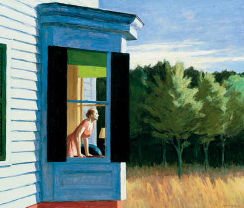 bibulousplatypus:  Cape cold morning, Edward Hopper