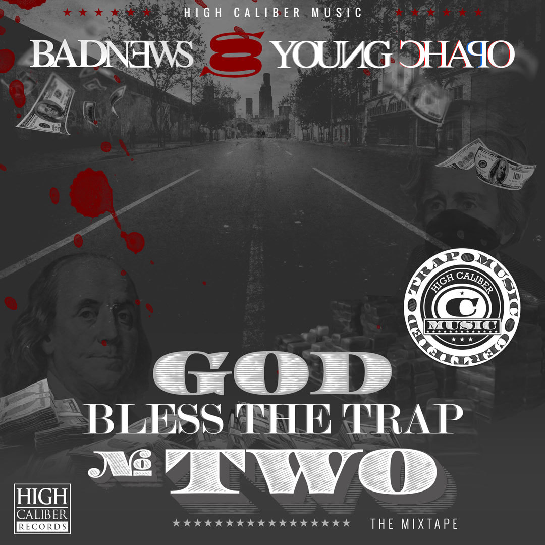 "BadNews & Young Chapo - God Bless The Trap 2 'The Mixtape'Hosted by Ernie G of Proper Dos Cover Art Download @ 1080p: http://fav.me/d5ohqs0 [Short Link] Download Individual Tracks on Hulkshare: http://www.hulkshare.com/playlist/67469Direct Download: God Bless The Trap 2 'The Mixtape'[ZIP File 91mb & No Waiting] Mixtape Websites:00 ThatCrack ""Holy Grail of Mixtapes""01 DatPiff02 MixtapeFactory03 TweetMyMixtape04 Retwedia05 MixConnect Torrent Download Links: 01 The Pirate Bay 02 Torrent Reactor03 Extra Torrent MP3 Playlist: [Click Song to Download] 01 Intro 02 Hulk Hogan 03 First 48 04 White House 05 Getting Money (Nine to Five) 06 Interlude 07 Big Plans 08 Choppas Out Feat. Sonny Blue 09 I'm on That 10 Onions 11 The Message 12 Tornado 13 Watching Me 14 Posted With My Homies Feat. Buyo 15 The City 16 Molly 17 Outro"