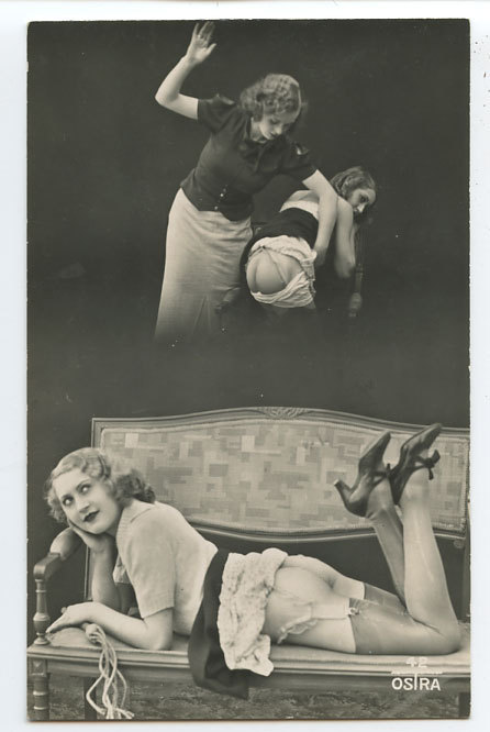 Biederer / Ostra postcard - Punishment Dreams, 1920s. … via chambreclose   billyjane said:  it's actually Ostra :* from what I gathered it was subdivision of Biederer Studio, funded bit l8r in 30s… queering.tumblr.com/tag… queering.tumblr.com/tag… (thank you Biljana)