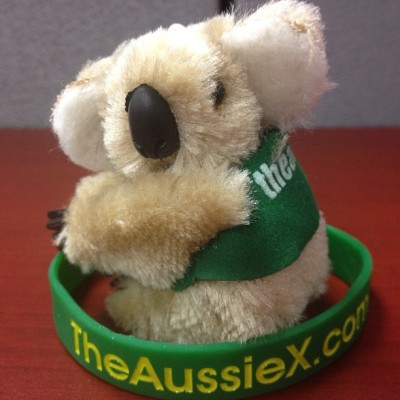 Met a brilliant team of #Aussies today at work that gave me a present!!!!  #oz #australia #home