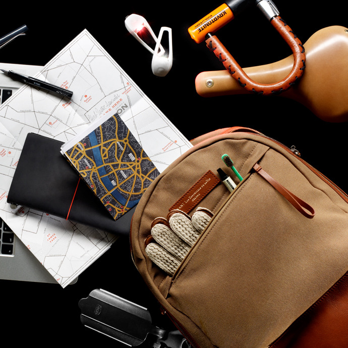 What are you packing?  5 stylish gents pack their bag of choice