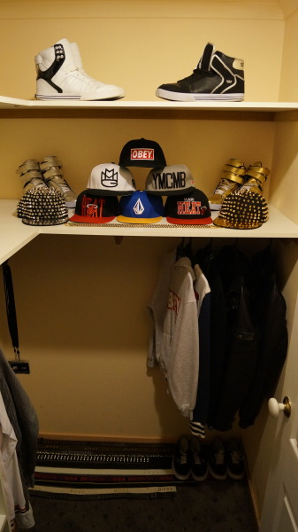 I love my hats and shoes… :D