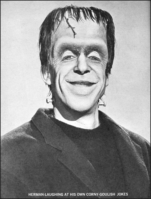 Fred Gwynne as Herman Munster (1960s)