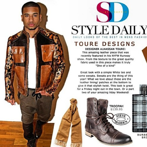 #Repost @chrisfindley #jacket by #touredesigns #style @stylewisenyc #fresh #fashion #NYC