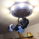 yumikay:  ilterzouomo:  (via A fully 3D printable GlaDOS Robotic ceiling arm lamp) GOOD GOD!  GIMMEEEEEE  I want this because of reasons.