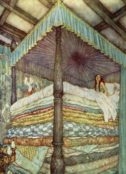 nordababe:  Edmund Dulac.   My bedtime story as a little girl.