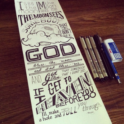 betype:  Hand-drawn type | See more quotes on Betype