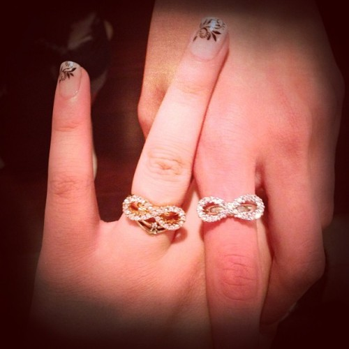 Best friends forever best friend best friends forever RING! I love you @jordyn_cassidy (: