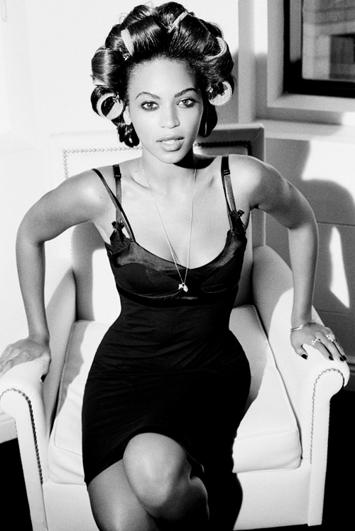 Beyonce photographed by Ellen Von Unwerth, 2006