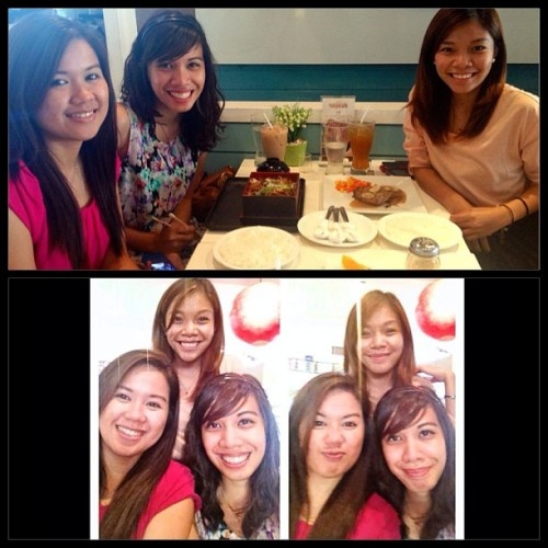 Late lunch with ze gurls. @eunicemaximo @kristenandrada #sunday #lunch #highschool #buddies #highschool #may19  (at Tokyo Café)