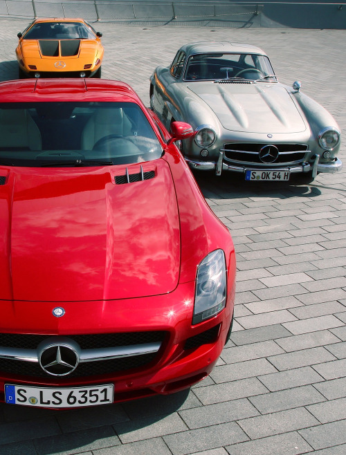 europeancarlove:  Gullwings (via)