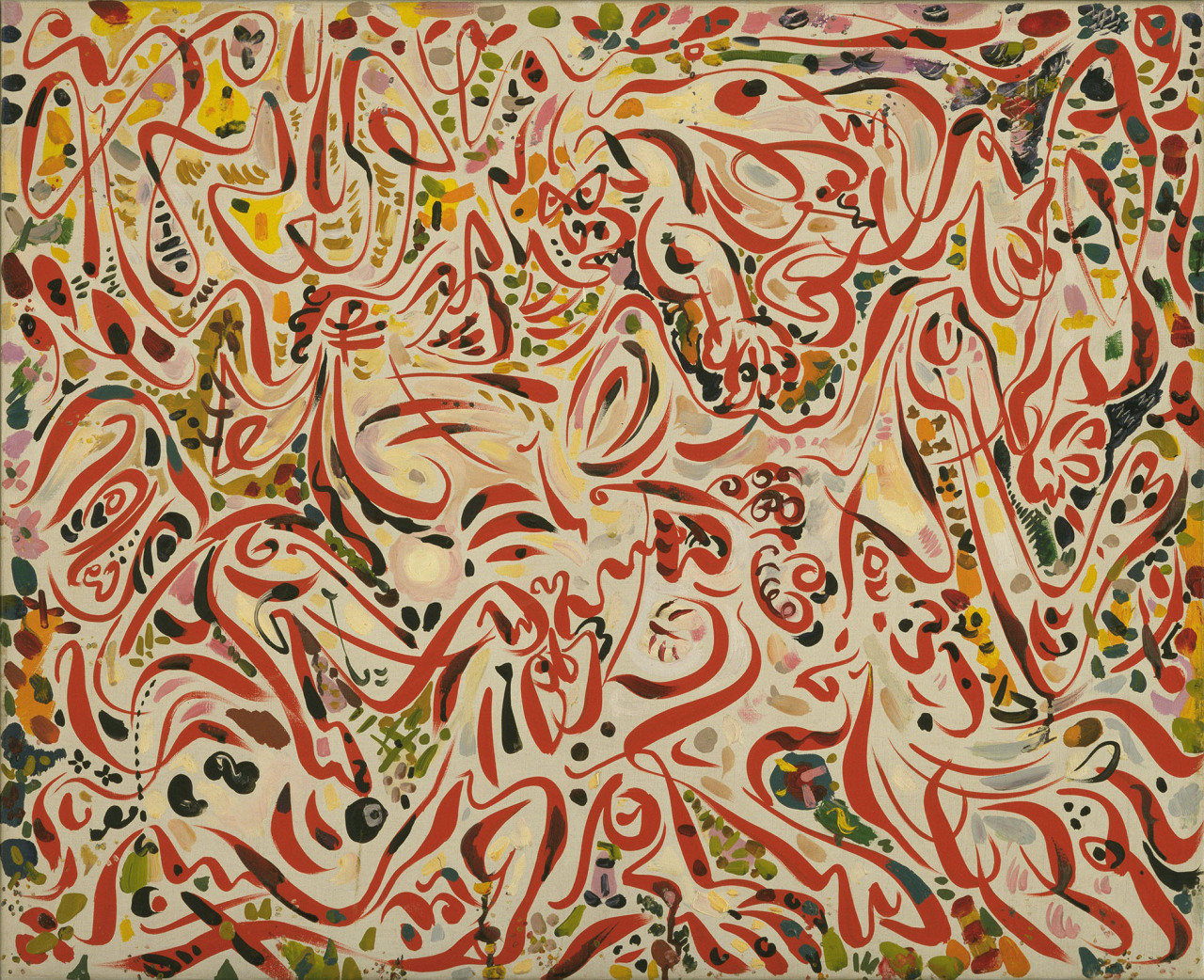 Andre Masson, The Kill, 1944 oil on canvas, 21 3/4 × 26 3/4 inches Download Image Visit Source @ moma.org
