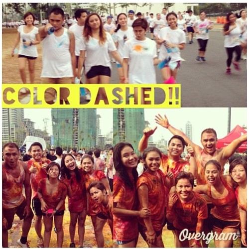 Before and After! #colorful #colordash regram from @kimmyluvvv  @rjmiclat @kthrnmclt @cjmiclat @miclatlat