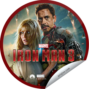 I just unlocked the Marvel's Iron Man 3 Opening Weekend sticker on GetGlue                      25603 others have also unlocked the Marvel's Iron Man 3 Opening Weekend sticker on GetGlue.com                  You rushed to the theater to see Iron Man 3 during opening weekend. Thank you for checking-in and enjoy! Share this one proudly. It's from our friends at Disney.
