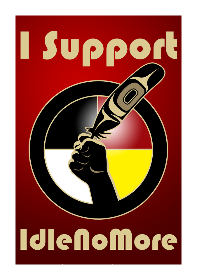 Support #Idle No More