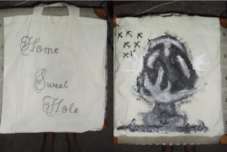 Title: 'Home Sweet Hole'  Project: 'Eco Bag' Designer: Emma Cook-Parnell